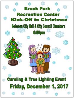 Caroling and Tree Lighting